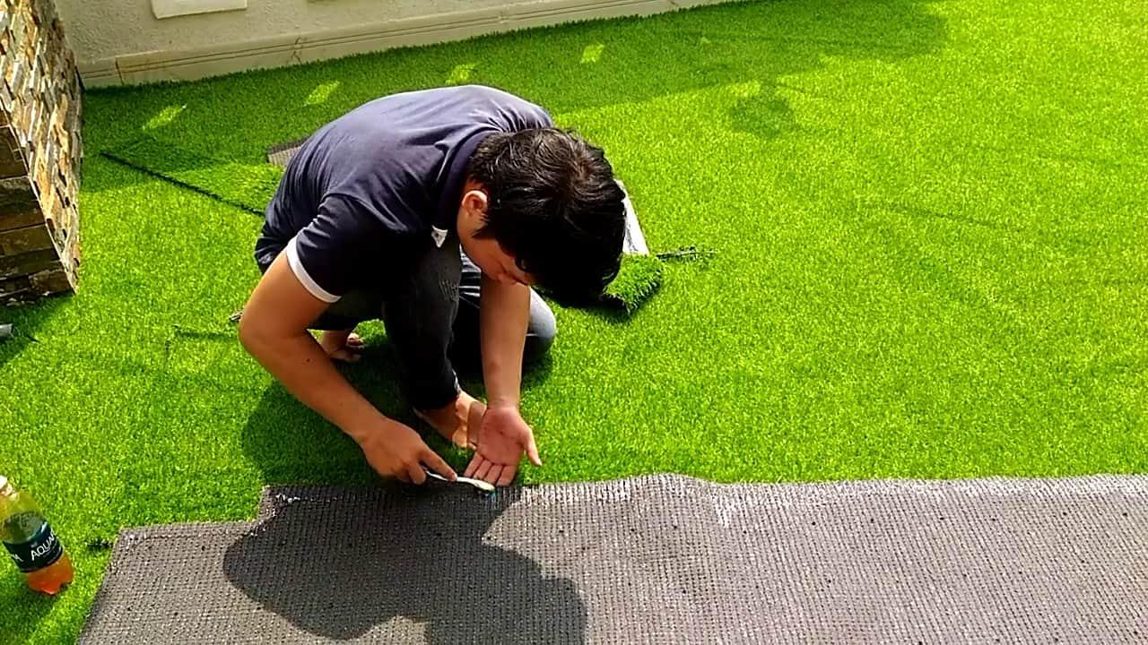 những bước cơ bản nên biết trước khi thi công  cỏ nhân tạo sân vườn