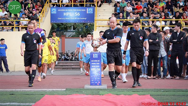 Hướng dẫn các quy trình tổ chức một giải bóng đá chuyên nghiệp